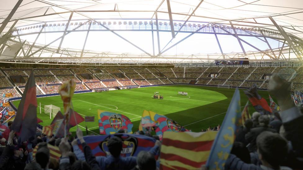 El Levante UD-Getafe CF... ¿en Mestalla?