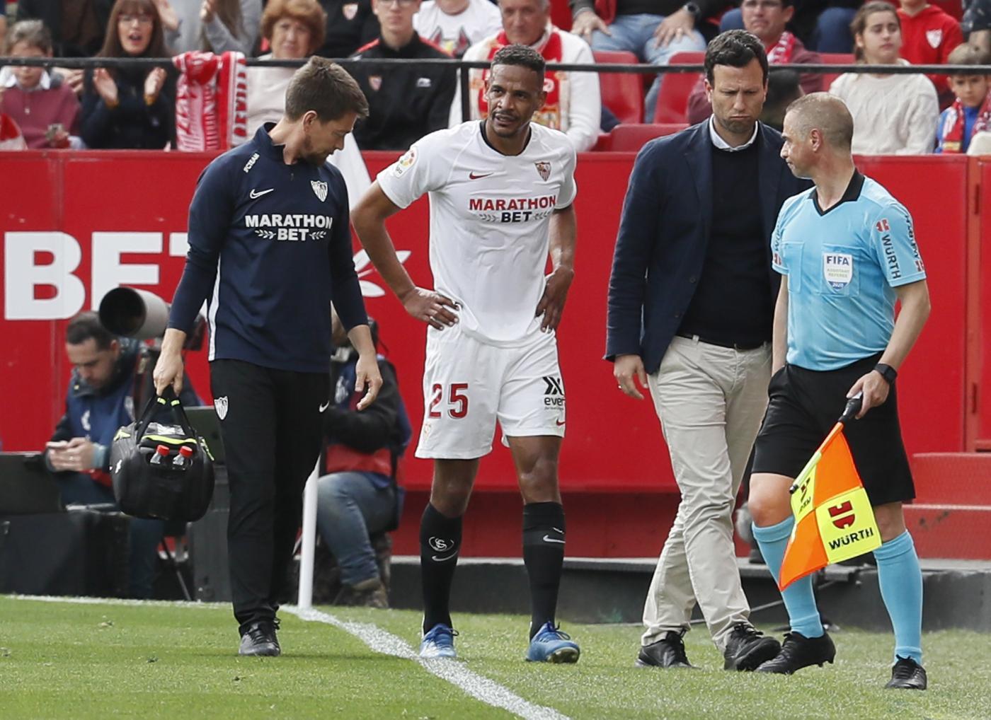 Tiempo de recuperación de Fernando, lesionado del Sevilla
