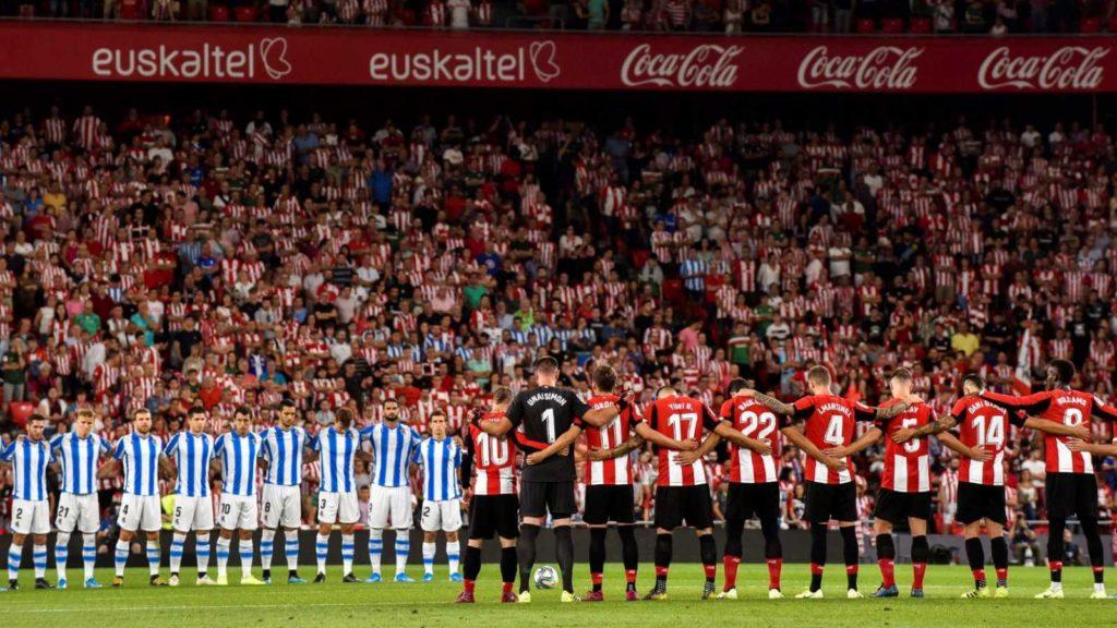 fútbol con publico