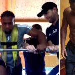 Adama Traoré la peta en las redes sociales con su entrenamiento