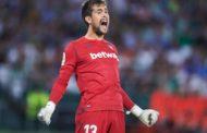 Aitor Fernández admite que recibió las llamadas de Arsenal y Athletic