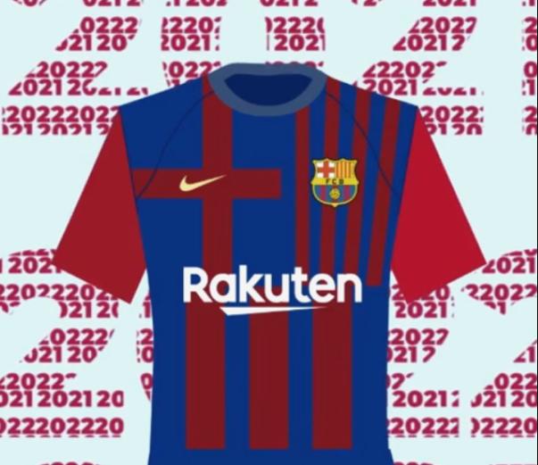 camiseta del Barça 2021-22