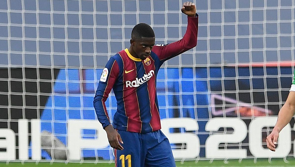 La ruina de Dembélé en el Barça