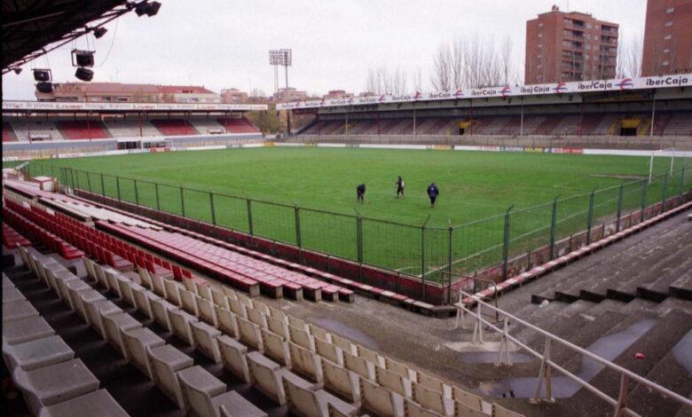 Las Gaunas, uno de los estadios desaparecidos en España