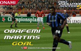 Obafemi Martins, el jugador que era una leyenda en el PES