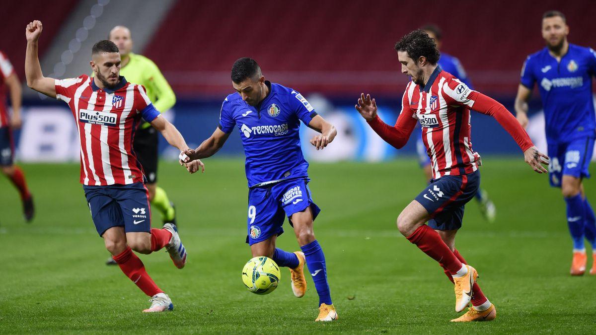 El Getafe no le ha marcado nunca un gol al Atlético del Cholo Simeone