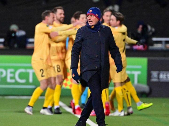 La rajada de Mourinho a sus jugadores tras llevarse 6 en Noruega